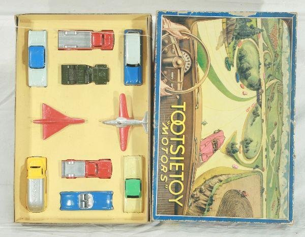 14: NETTE - Boxed TOOTSIETOY Set 7200 Motors:
