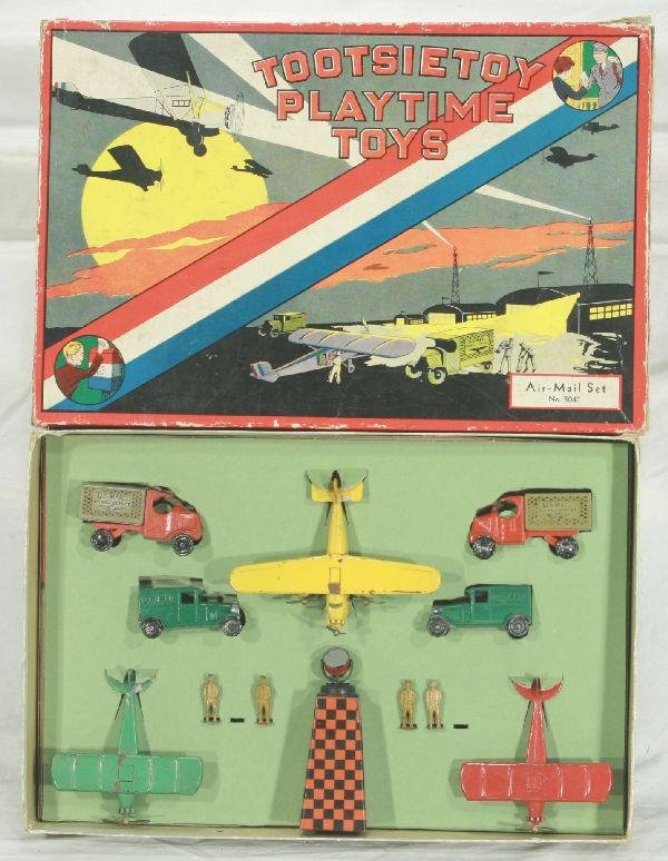 16: NETTE - Boxed TOOTSIETOY 5041 Air-Mail Set: