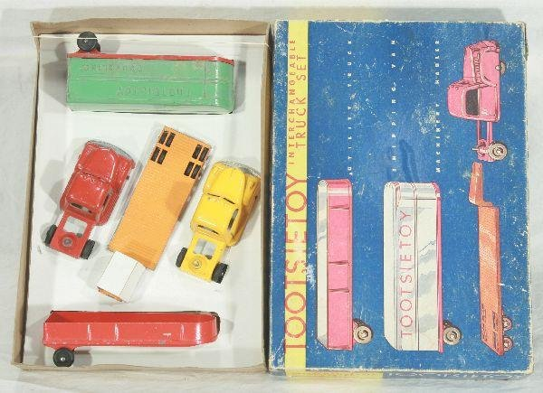 21: NETTE - Boxed TOOTSIETOY Interchangeable Truck Set
