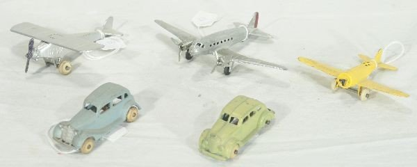 23: NETTE - 5 Pc. TOOTSIETOY Vehicle Lot: