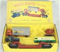 70: NETTE - Scarce MATCHBOX G9 Major Pack Gift Set: