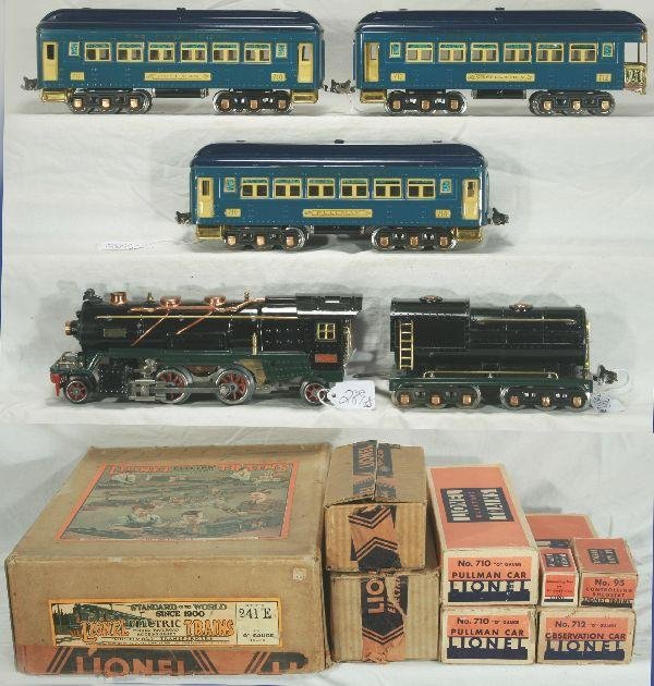 289: NETTE - Awesome Boxed LIONEL 241E Set: