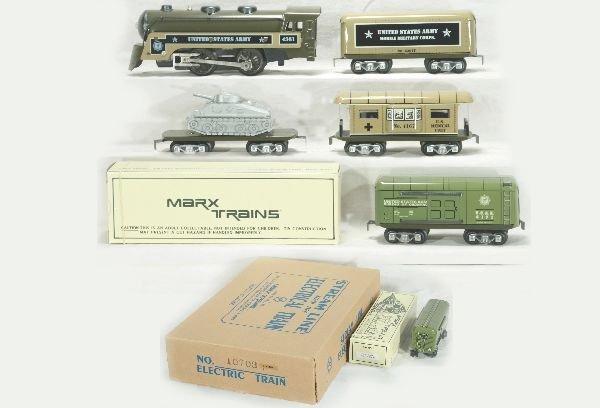 296: NETTE - Partial Modern MARX Army Set 10703: