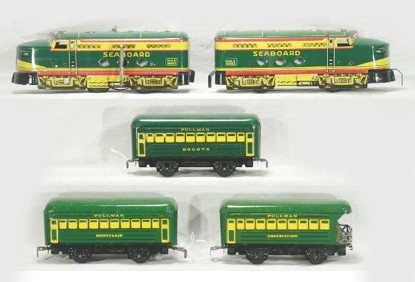 312: NETTE - 5 Pc. MARX Seaboard Diesel Set:
