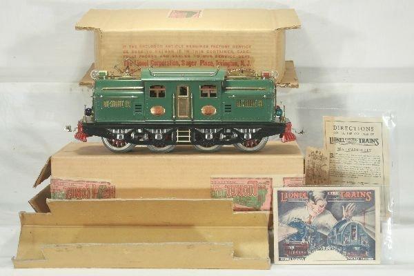 696: NETTE - Amazing Boxed State Green LIONEL 408E: