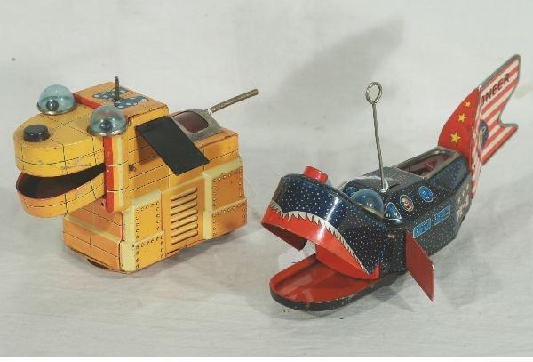 852: NETTE - 2 KO Japan Space Toy Robots: