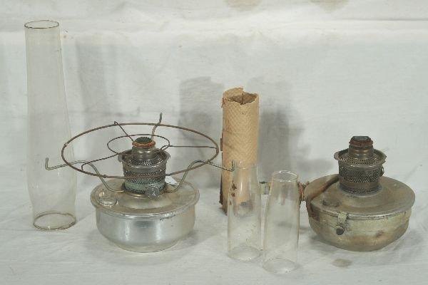 10: NETTE - Group of RR Linens & Lamp Parts: