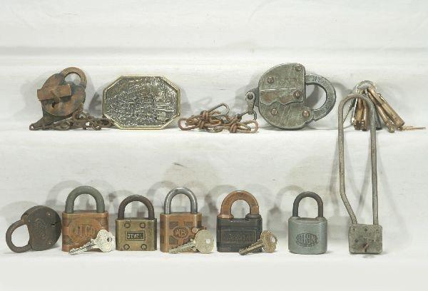 14: NETTE - Group RR Locks & Keys: