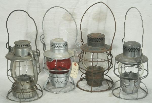 18: NETTE - 4 RR Lanterns: