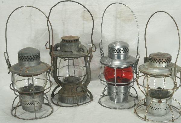 20: NETTE - 4 RR Lanterns: