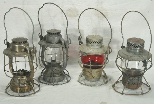 21: NETTE - 4 RR Lanterns: