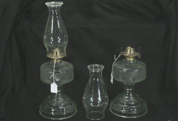 22: NETTE - 2 RR Oil Lamps: