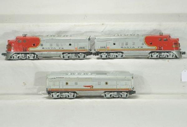 79: NETTE - LIONEL 2333 SF F3 ABA Diesels: