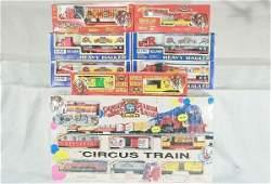 1: 9 pc K-Line Circus Train Lot