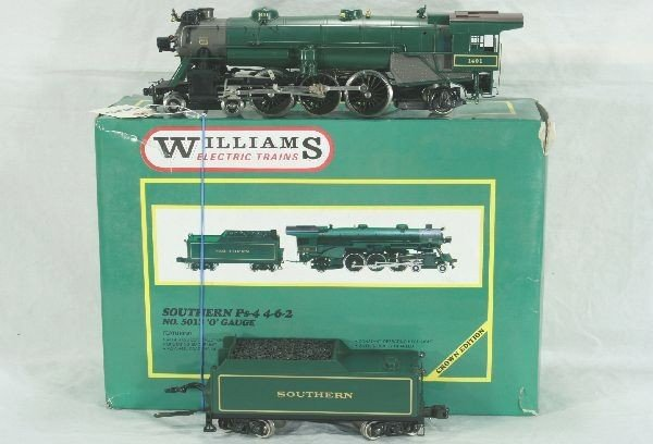 6: Williams Southern Ps-4 4-6-2 Loco and Tender,