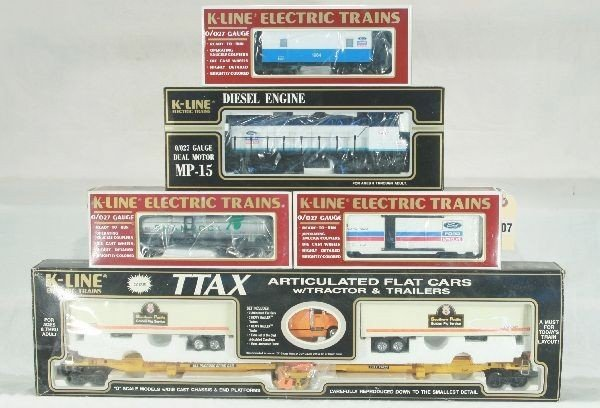 7: 5 pc K-Line Freight Lot