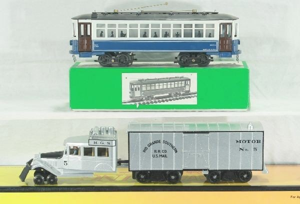 19: MTH Rail King and Bowser 2 pc Lot