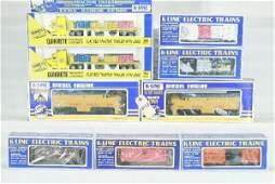 113: 9 pc K-Line UP Train Set Lot