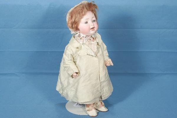 """2:  14"""" Bisque Baby Doll"""