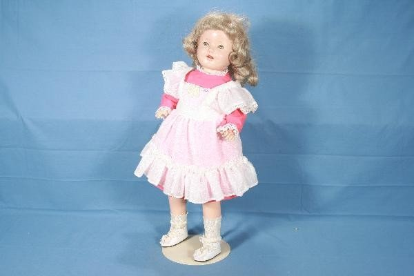 """4:  22"""" IDEAL composition Shirley Temple Doll"""