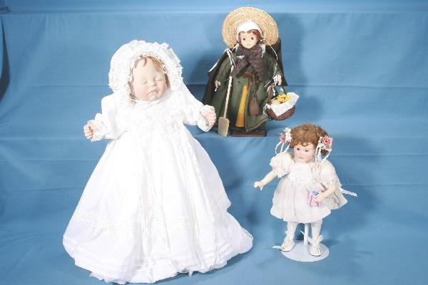 11: 3 Boxed Modern Dolls