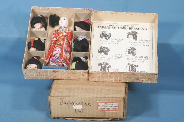 17: Boxed The HANAKO Doll with 6 Wigs