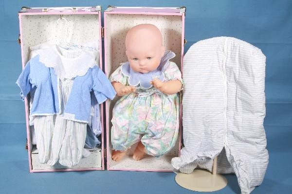 23: NETTE- AMERICAN GIRLS Baby Doll with Truck