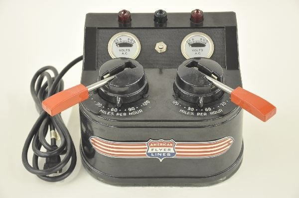 4: American Flyer 30B 300 Watt Transformer