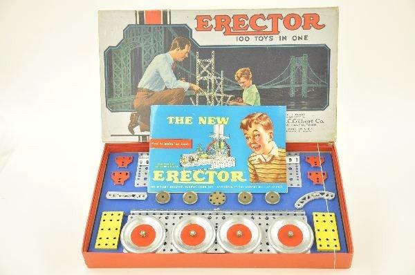 6: Nice Boxed Gilbert Erector Set 3 1/2