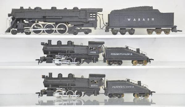23: 3 American Flyer HO Ga. Locomotives