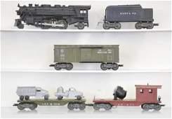 417: 6 Pc. Marx Military Train Set