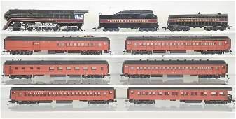 481: 9 Pc. Bachmann HO Ga. N&W Passenger Set