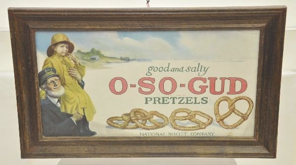 3: Early Nabisco Advertizing Sign