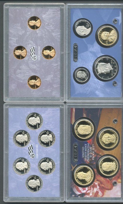 19: 2005 US Mint Proof Set and 2009 US Mint Proof Set