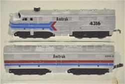 17: Rare Marx Prototype Amtrak AB Diesel