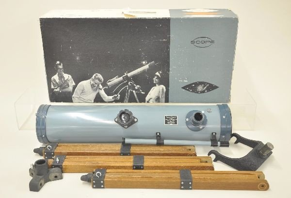 4: Scope 2538 Boxed Telescope