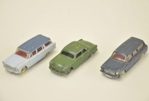 7: Three Dinky Toy Vehicles