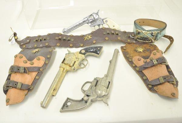 9: Cap Gun and Holster Lot