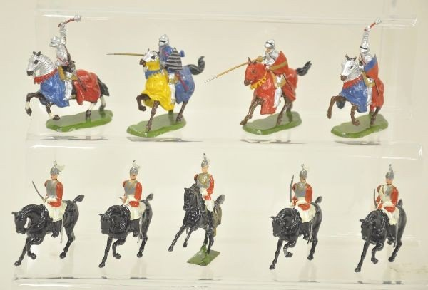 10: Britains Knights and Life Guards Lot