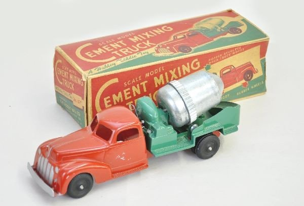 17: Boxed Hubley Cement Mixer