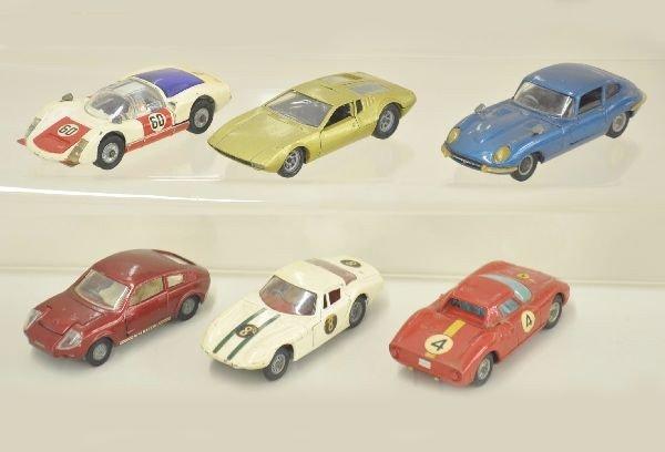 25: 6 Early Corgi Race Cars