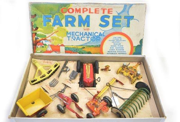 172: Scarce Boxed Marx Complete Farm Set
