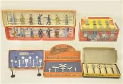 401: Seven Boxed Railroad Figure Sets
