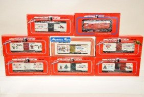 104: American Flyer Lionel S-Gauge Freight Cars