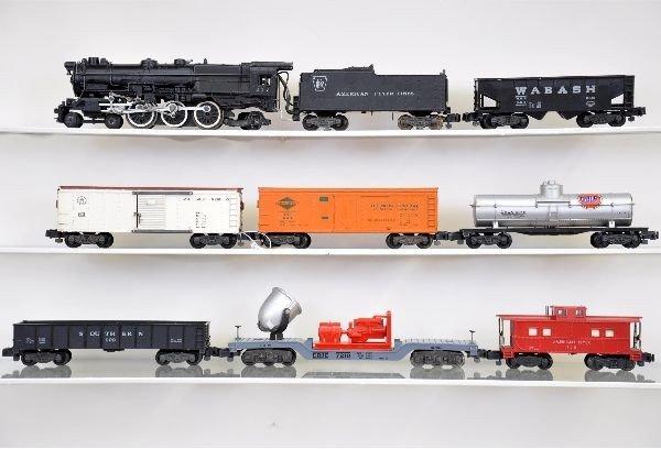 111: American Flyer S-Gauge Steam Freight Set