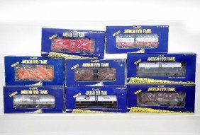 118: American Flyer Lionel S-Gauge Freight Cars