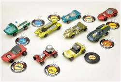 638: Hot Wheels Redline Vehicle Lot with Pins
