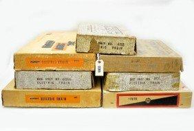 6: Empty Marx Set Boxes