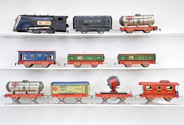 17: Pre-War Marx Freight Set
