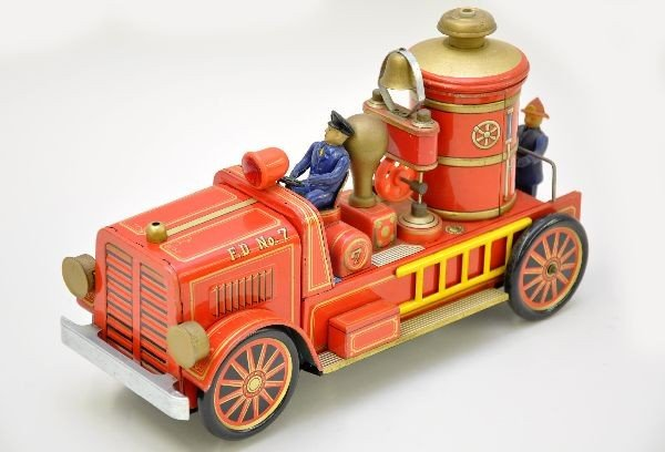 232: Large Modern Toy Fire Engine